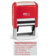 Razítko Colop printer 35